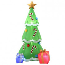 6.5 ft. H Inflatable Christmas Tree with Gifts