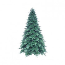 12 ft. Blue Noble Spruce Artificial Christmas Tree with 1260 Clear LED Lights