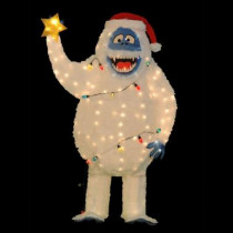 5 ft. Pre-Lit Tinsel Bumble from Rudolph with Light Strand