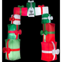 9.5 ft. H Inflatable Christmas Gift Packages Archway