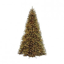 12 ft. North Valley Spruce Artificial Christmas Tree with 1100 Clear Lights