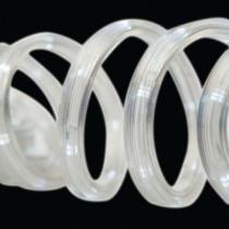 12 ft. 50-Light LED White Flat Rope Light