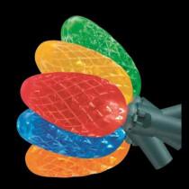 50-Light LED C6 Multi-Color Light Set