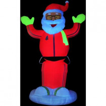 6 ft. Animated Inflatable Neon Dancing Santa