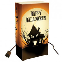 Electric Luminaria Kit - Haunted House (Set of 10)