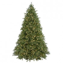 7.5 ft. FEEL-REAL Jersey Fraser Fir Artificial Christmas Tree with 1250 Clear Lights