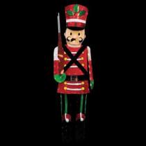 6 ft. Pre-Lit Half Toy Soldier