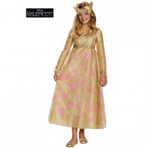 Maleficent Aurora Coronation Gown Prestige Girl Costume
