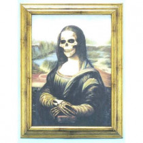 Mona Lisa Zombie Portrait
