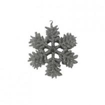 Beaded Snowflake Ornament (Set of 6)