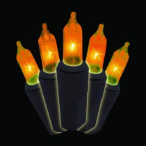 Orange Halloween 100-Light Strand (Box of 2)