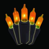 Orange Halloween 100-Light Strand (Box of 2)