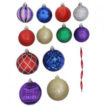 Shatter-Resistant Assorted Ornament (100-Pack)