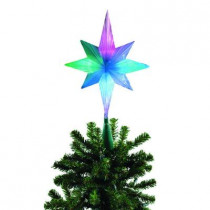 Frosty Star Color Changing LED Tree Topper