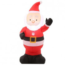 42 in. H Inflatable Outdoor Santa