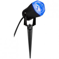 3.5 in. Light Blue LED Outdoor Spotlight