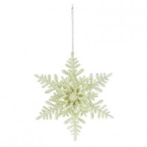 6 in. 6-Point Star Snowflake Ornament