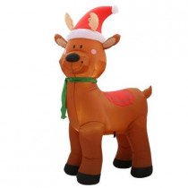 6 ft. H Inflatable Reindeer