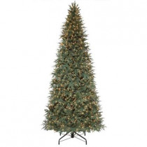 10 ft. Meadow Fir Quick-Set Artificial Christmas Tree with 1200 Clear Lights