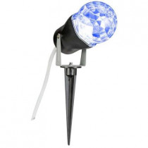 10 in. Blue Projection Kaleidoscope Spotlight Stake