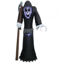 29.53 in. W x 19.69 in. D x 60 in. H Inflatable Airblown Reaper