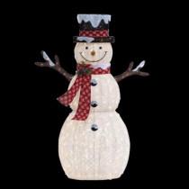6 ft. Pre-Lit Big Snowman