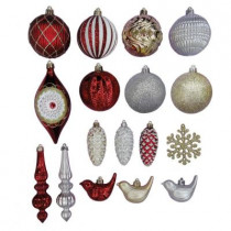 Cranberry Frost Shatter-Resistant Ornament (80-Pack)