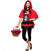 Sweet Girl Red Riding Hood Teen Costume