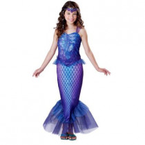 Girls Mysterious Mermaid Costume