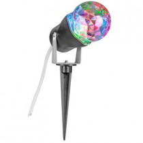 10 in. Red Green Blue Projection Kaleidoscope Spotlight Stake