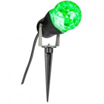 10 in. Green Projection Kaleidoscope Spotlight Stake