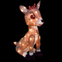 18 in. Pre-Lit Clarice the Reindeer from Rudolph