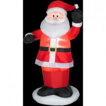 3 ft. H Inflatable Rudolph Red Nose with Scarf
