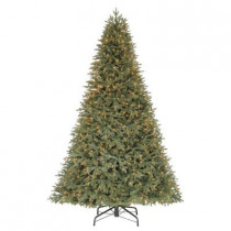 9 ft. Stamford Pine Quick-Set Artificial Christmas Tree with 1050 Clear Lights