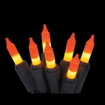 100-Light Candy Corn Mini String Light Set