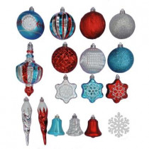 North Pole Shatter-Resistant Assorted Ornament (80-Pack)