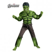 Boys Hulk Avengers Classic Muscle Costume
