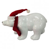 8 in. H Polar Bear Figure