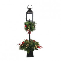 4 ft. Artificial Lantern Porch Tree with 70 Lights