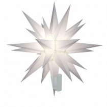 12 in. Lighted Holiday Star Tree Topper