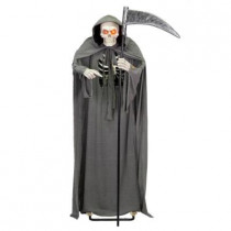 72 in. Animated Grim Reaper with Sound and Light Effects
