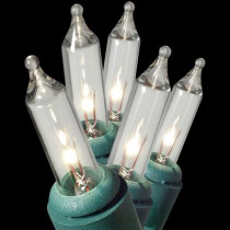 String-A-Long 100-Light Clear ConstantON Miniature Light Set