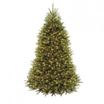 7.5 ft. Dunhill Fir Artificial Christmas Tree with 750 Clear Lights