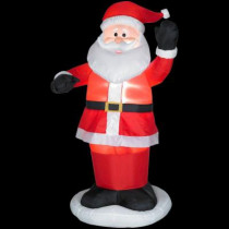 6 ft. H Inflatable Animated Dancing Santa