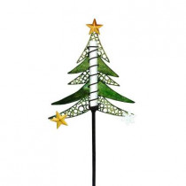 Solar Powered LED Tree Christmas Stake