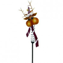 Solar Powered LED Reindeer Christmas Stake