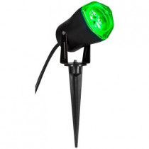 3.5 in. LED Green Outdoor Spotlight