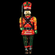 5 ft. Pre-Lit Toy Soldier