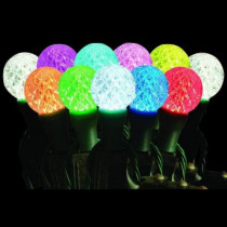 25-Light LED G40 72-Function Multi-Color Light Set with Remote