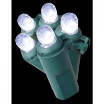 50-Light LED White Dome Lights